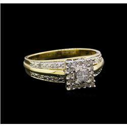 0.50 ctw Diamond Ring - 10KT Yellow Gold