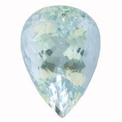 12.12 ctw Pear Aquamarine Parcel