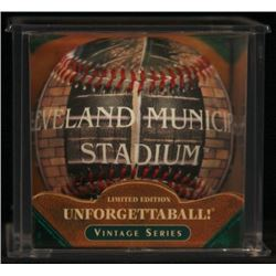 "Unforgettaball! ""Cleveland Municipal"" Collectable Baseball"