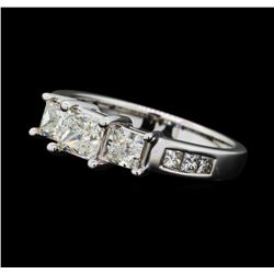 1.48 ctw Diamond Ring - 14KT White Gold