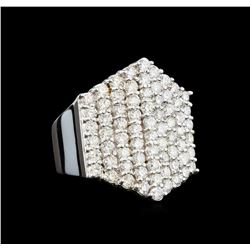 14KT White Gold 3.12 ctw Diamond Ring