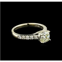 1.83 ctw Diamond Ring - 14KT White Gold