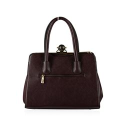 Purple Graped Handbag