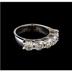 2.55 ctw Diamond Ring - 14KT White Gold