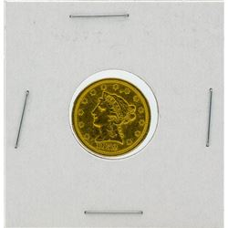 1852 $2.5 Liberty Head Quarter Eagle Gold Coin