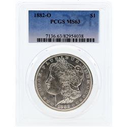1882-O PCGS MS63 Morgan Silver Dollar