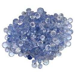 14.02 ctw Round Mixed Tanzanite Parcel