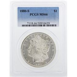 1880-S PCGS MS66 Morgan Silver Dollar