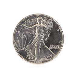 1986 American Silver Eagle Dollar Coin