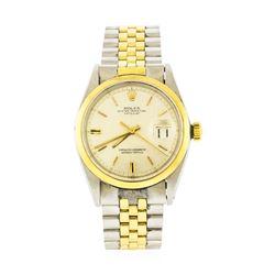 Rolex Two-Tone DateJust Watch
