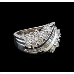 14KT White Gold 1.78 ctw Diamond Ring