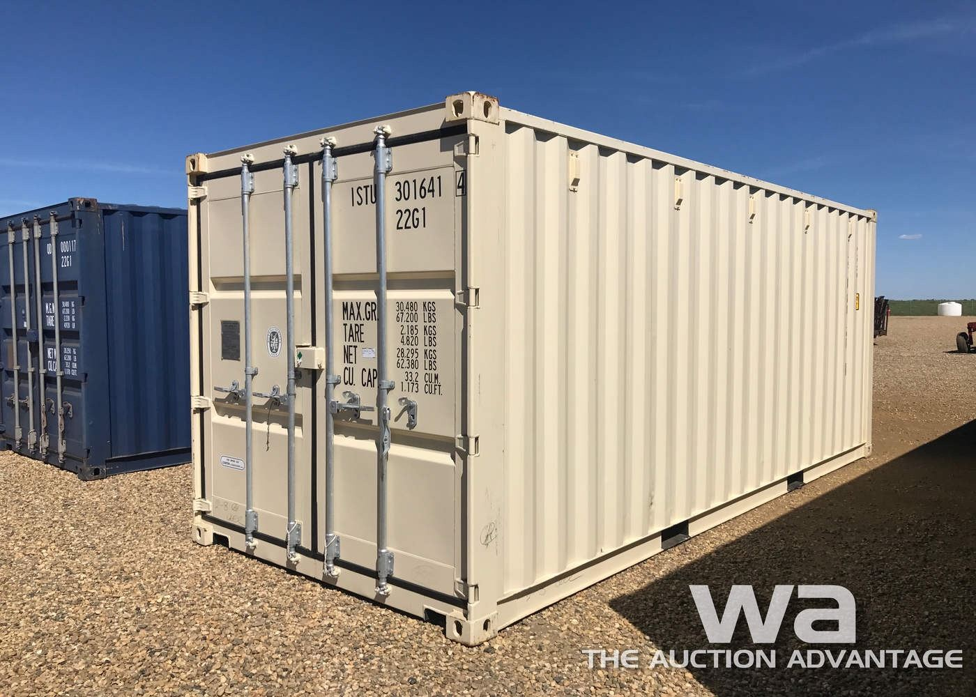 2015 ONE WAY SHIPPING CONTAINER