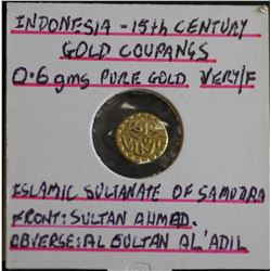 Indonesia Gold Coupang EF