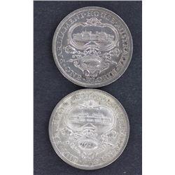1927 Canberra Florins Unc (2 coins)