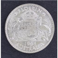 1945 Florin Uncirculated