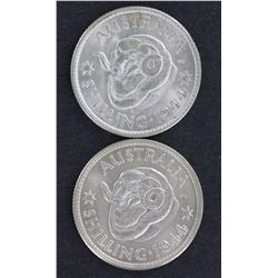 Shillings 1944 & 1944s Choice Unc