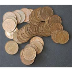 Australia ½ Penny 1962 Perth Ex Mint Bag Choice to Gem (40 Coins)