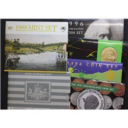 Mint Sets 1988,89,92,94,96