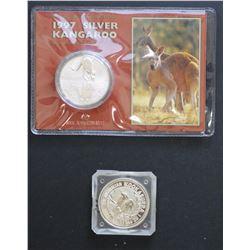 Silver 1 ounces 1987 Kanga 1994 Kooka