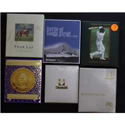 $5 Proof Collection 1988,1990,1994,1996,2000 & 2002