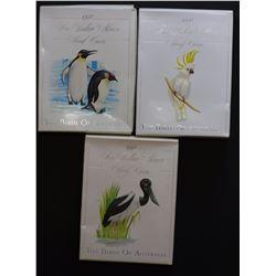 Birds Proof 1990,1991 & 1992
