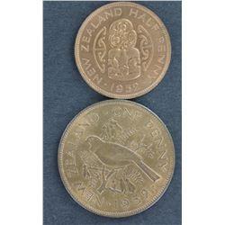 NZ penny 1952 BU (2)