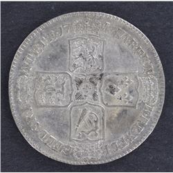 GB 1746 ½ Crown Good VF