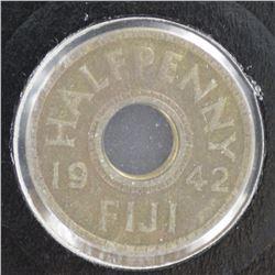 Fiji 1/2d 1941, 1942,