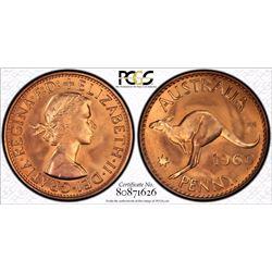 1960 Perth Penny PR 66 Red