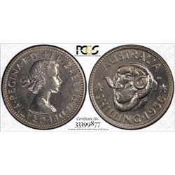 1956 M Shilling PR 65