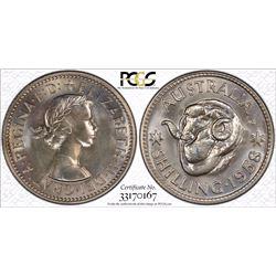1958 M Shilling PR 66