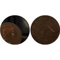 1959 M Penny PR 65 RB