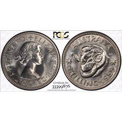 1959 M Shilling PR 66
