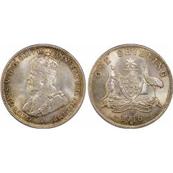 1916 Shilling MS 64