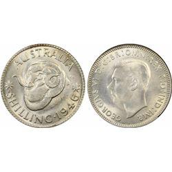 1946 P Shilling MS 64