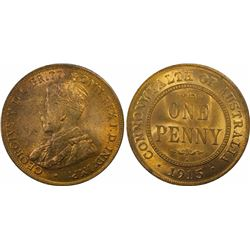 1915 H Penny MS 64 RB
