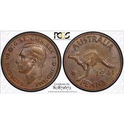 1941 Penny MS 63 BN