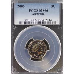 2006 5c MS 66