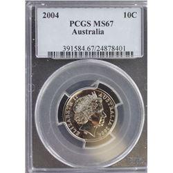 2004 10c MS 67