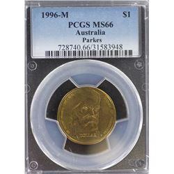 1996 M $1 MS 66
