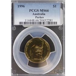 1996 $1 MS 66
