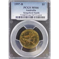1997 B $1 MS 66