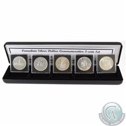 1939-1967 Canadian Silver Dollar Commemorative 5-coin set. You will receive the 1939 Parliament, 194