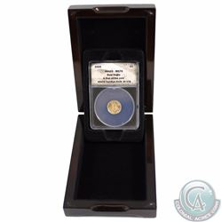 2009 United States $5 Gold Eagle MS70 ANCAS Certified First Strike with display case.