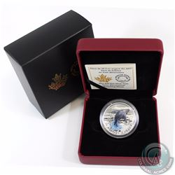 2017 Canada $20 Breaching Whale Three-Dimensional Fine Silver Coin (TAX Exempt). Comes with original