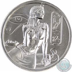 2015 Cleopatra 2 oz. .999 Fine Silver Round (TAX EXEMPT)