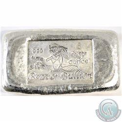 Beaver Bullion 6 oz Fine Silver Bar (Tax Exempt)