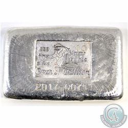 Beaver Bullion 10 oz Silver .999 Fine Bar (Tax Exempt)