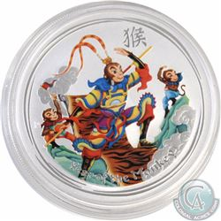 2016 Australia $1 Coloured - Monkey King 1oz Bullion Coin (Tax Exempt)