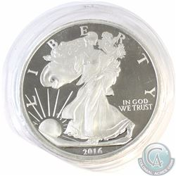 Sealed 2016 Liberty Proof 5oz 999 Silver Round (Tax Exempt)